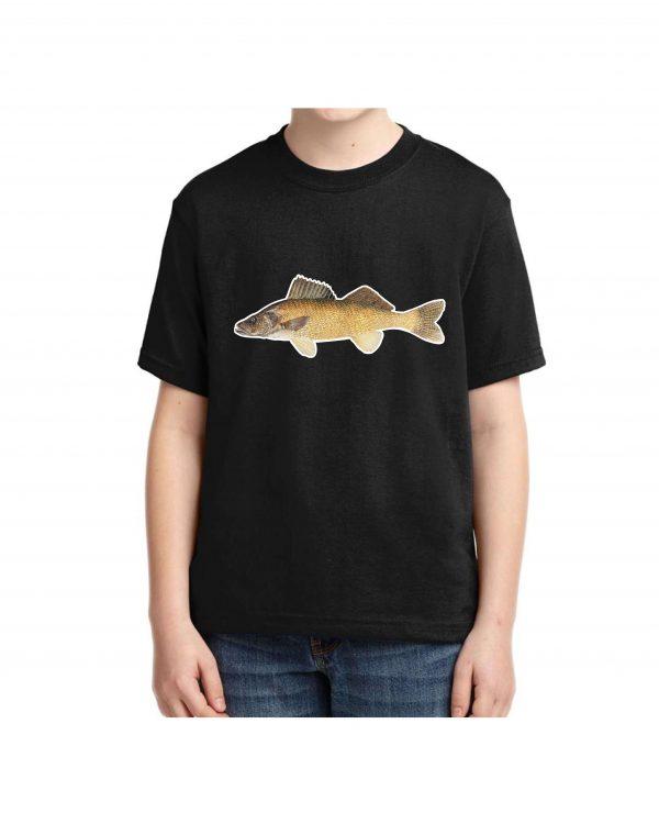 Kids Walleye T-shirt 5.6 oz., 50/50 Heavyweight Blend