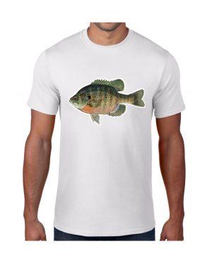 Bluegill Sunfish T-shirt 5.6 oz., 50/50 Heavyweight Blend
