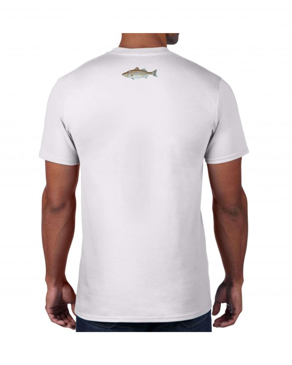 Men Striped Bass Tshirt