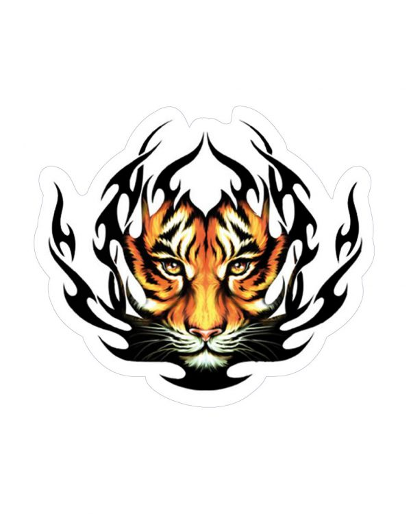 Good Vibes™ Tiger Sticker & Magnets for indoor & outdoor use