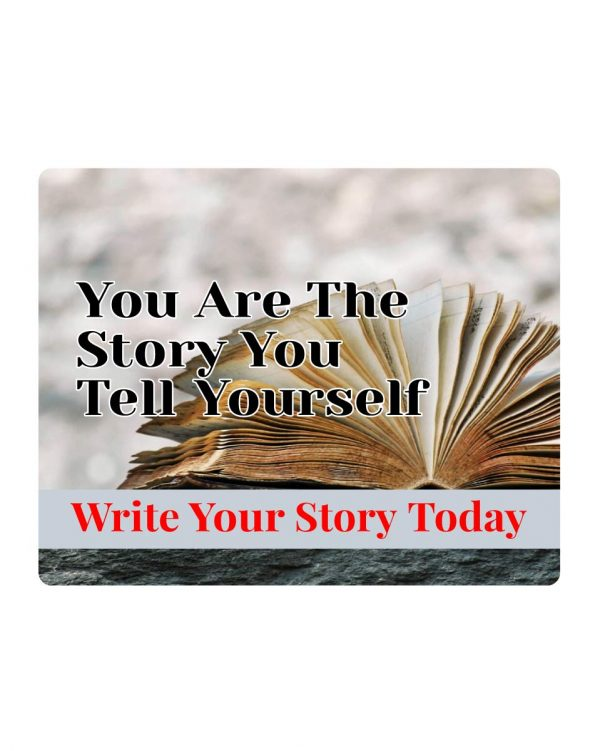 Write Your Story Sticker & Magnet