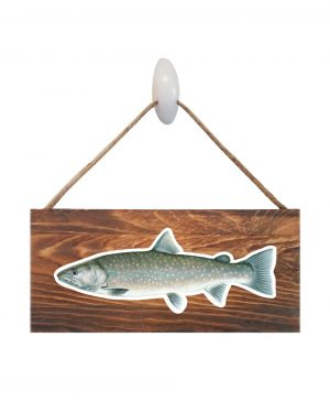 Bull Trout Wood Sign